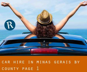 Car Hire in Minas Gerais by County - page 1