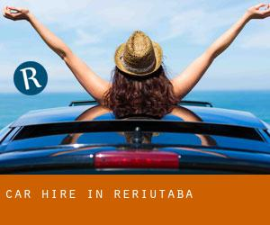 Car Hire in Reriutaba