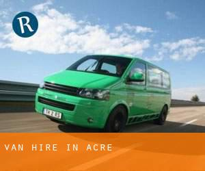 Van Hire in Acre