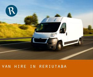 Van Hire in Reriutaba