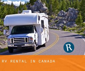 RV Rental in Canada