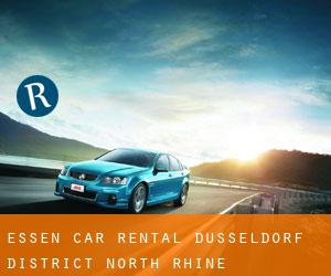 Essen Car Rental (Düsseldorf District, North Rhine-Westphalia)